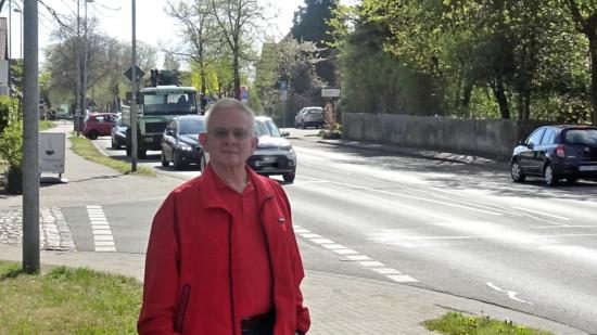 Heinz Dieter Adamczak an der K86