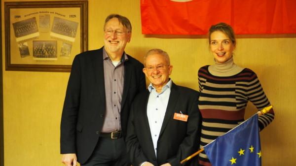 Bernd Lange, Heinz-Dieter Adamczak und Svenja Stadler